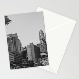 Minneapolis Minnesota Architecture Black and White Stationery Cards