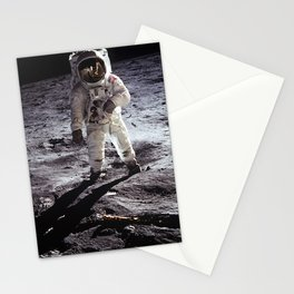 Apollo 11 - Iconic Buzz Aldrin On The Moon Stationery Cards