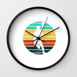 Lacrosse Retro - Lacrosse Design Wall Clock