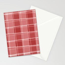 Chalk strokes of light and red lines on a calm background. Stationery Cards