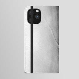 Wabi Sabi Cracked Digital Surface iPhone Wallet Case