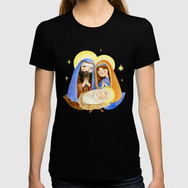 baby jesus Marry Christmas  T-shirt