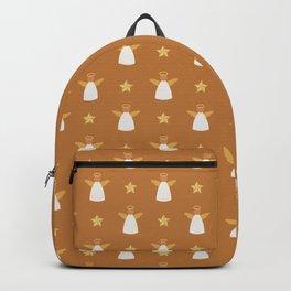 Gold Christmas Angel Backpack