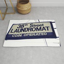 38th Street Laundromat Rug
