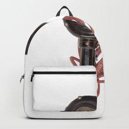 Retro Vintage Bakelite hair dryer Backpack