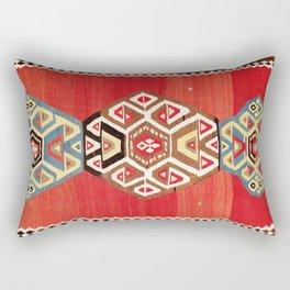 Shahsavan Azerbaijan Northwest Persian Kilim Print Rectangular Pillow