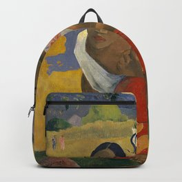 Paul Gauguin -  Nafea Faa Ipoipo (When Will You Marry?) Backpack