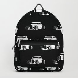 Vintage American Hot Rod Backpack