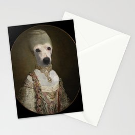 "Marie ""Chien""toinette Stationery Cards"