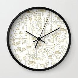 Experience Regina Wall Clock