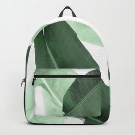 Green Banana Leaf Backpack