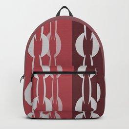 Chain Stripe  Backpack