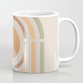 Mininal shape rainbow  Coffee Mug