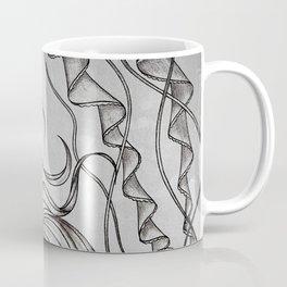 Monochromatic Mermaid Coffee Mug