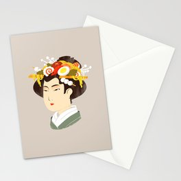 Japanese Delicacy Stationery Cards