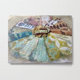 Artsy Color Wheel Metal Print