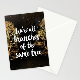 Branches of a Tree Stationery Cards