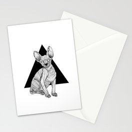 Pepinowski Cat  Stationery Cards
