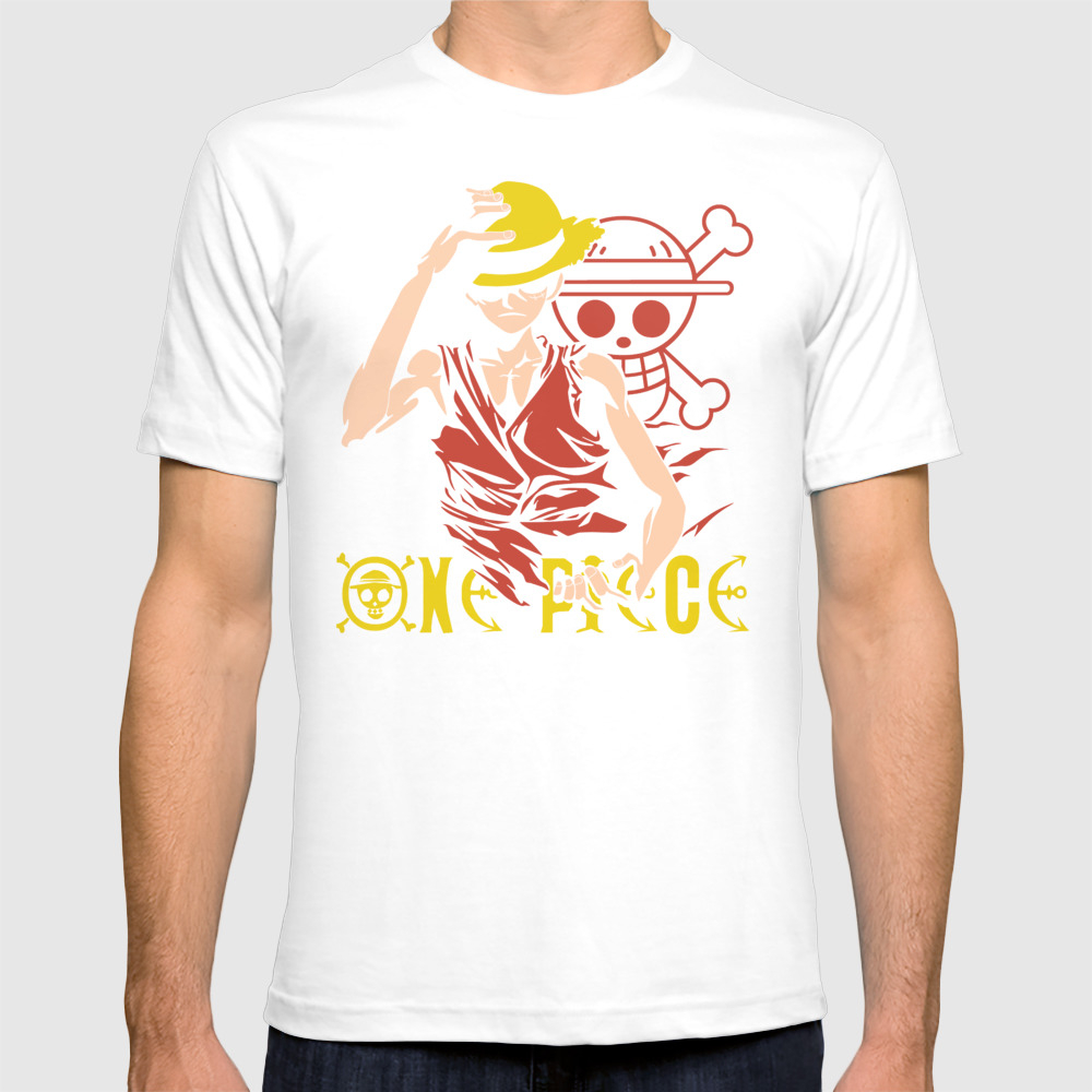 Monkey D Luffy - One Piece Anime T-shirt by Malaqueen TSR8076010