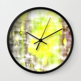 Bref apparition du soleil d'hiver Wall Clock