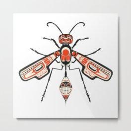 The Wasp Metal Print