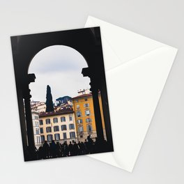 Florence, Italy - To the Ponte Vecchio Stationery Cards