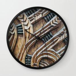A Maori Carving Wall Clock