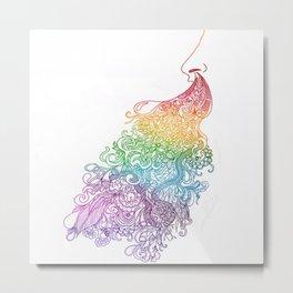 Rainbow Achoo Metal Print