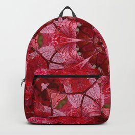 Cranberrybush Viburnum mandala Backpack