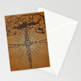 misterio visual 10: ojo de la furia divina Stationery Cards