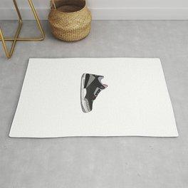 Jordan 3 - Black Cement Rug