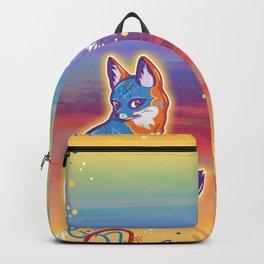 Magical Gray Fox Backpack