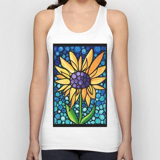 Standing Tall - Sunflower Art By Sharon Cummings by sharoncummings