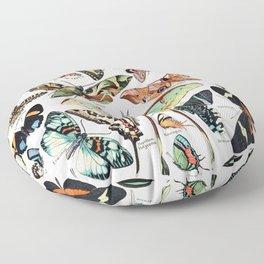 Adolphe Millot - Papillons pour tous - French vintage poster Floor Pillow