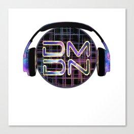 Dark Matter Digital Network Canvas Print