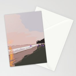 Kabalana Beach, Ahangama, Sri Lanka Stationery Cards