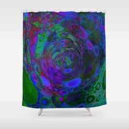 Purple Whirlpool Shower Curtain