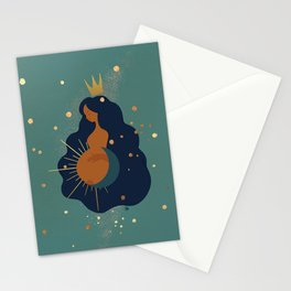Mother and Sun Stationery Cards