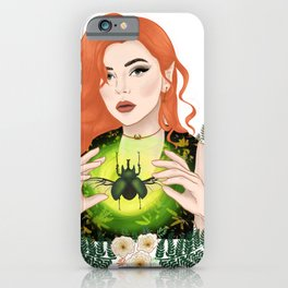 Lady of the Hinterland iPhone Case