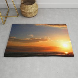 Sunset in the Bay Rug