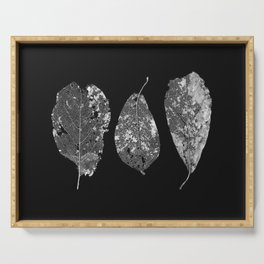 Decomposition of Leaves Serving Tray
