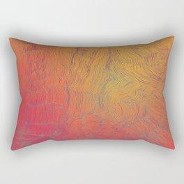 Auric Waves Rectangular Pillow