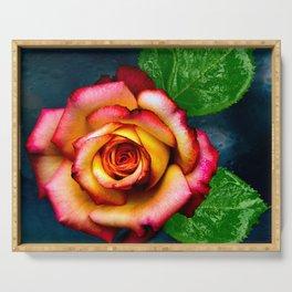Beautiful Rose Serving Tray