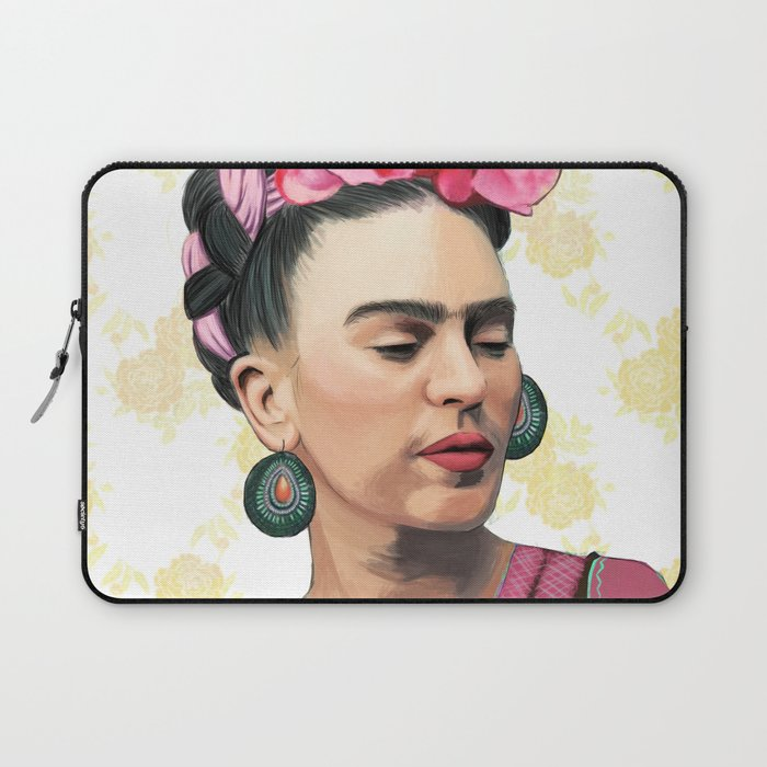 Pink Frida Laptop Sleeve