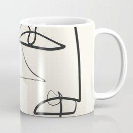Abstract line art 12 Coffee Mug