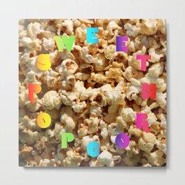 Sweet Popcorn – Clock 10 - Living Hell Metal Print