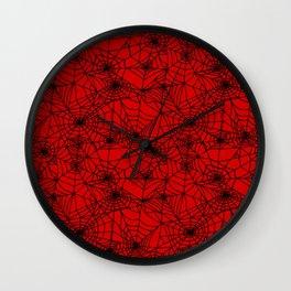 Demon Webs Wall Clock