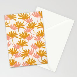 Tropical leaves no5 Stationery Cards