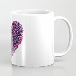 Frozen Berries heart Coffee Mug
