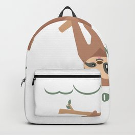 Nope It's Not Gonna Happen - Funny Sloth Backpack